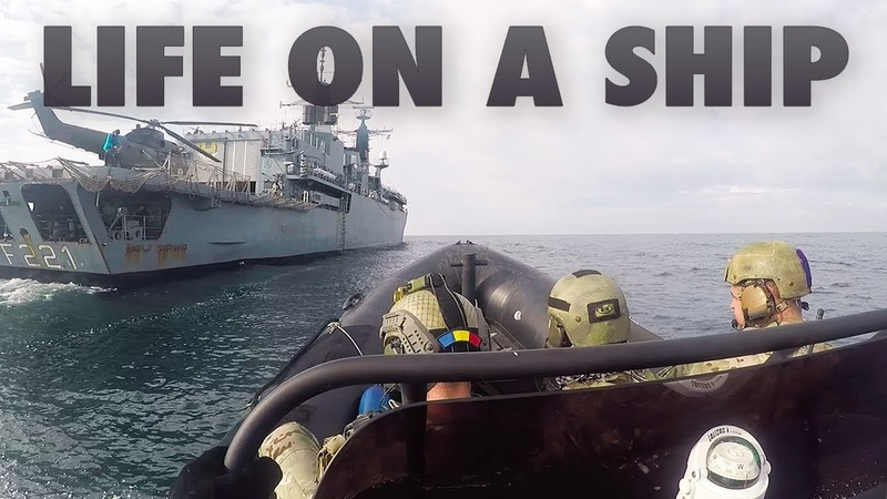 Life on a ship welcome on board 🇷🇴Romanian Navy frigate Regele Ferdinand