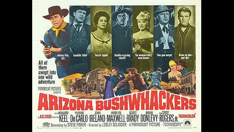 Arizona Bushwhackers (Arizona) (1968) (Español)