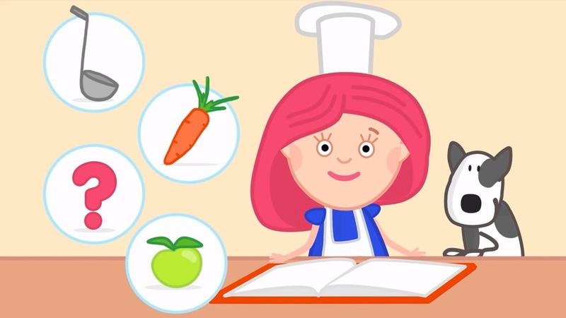 Kinder Cartoon Smarta und ihre magische Tasche 2 Folgen am Stück Wir kochen und backen