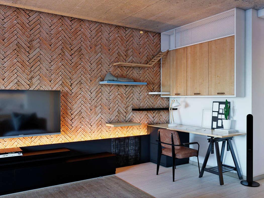 Apartment in Kiev by ZA-ZA interior design