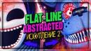 ФИНАЛ СЮЖЕТА! ЗУБАСТАЯ МАРИОНЕТКА! МЕНЮ EXTRA! ▶️ FNAF Flat-Line Abstracted 2