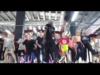 RMT DANCE CAMP 2k19 Popin Pete routine