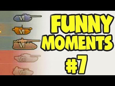 Wot Funny Moments 7 World of Tanks FAILS WINS