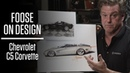 Redesigning the soft lines of the Chevrolet C5 Corvette Foose on Design Ep 2