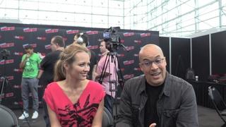 › Дата: 7 октября 2018 года. › Интервью каста сериала «Одаренные» для  Haydenclaireheroes в рамках конвенции «New York Comic Con».