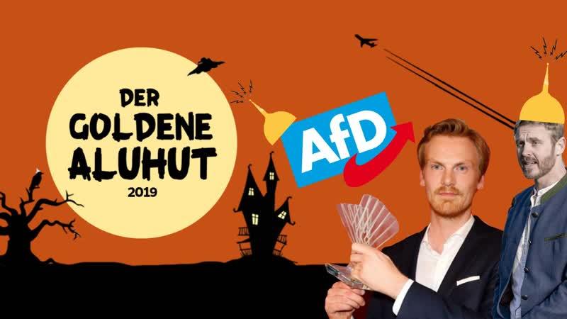 Nikolai Nerling, AfD und Claas Relotius bekommen den Award für Verschwörungstheoretiker