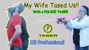 TASER X2 Most powerful TASER We got tased Probe removal