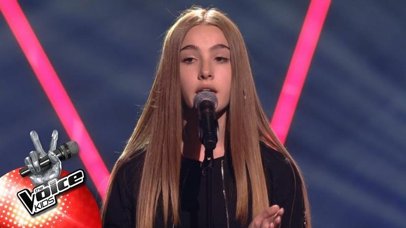 Jade 'Homesick' Blind Auditions The Voice Kids VTM