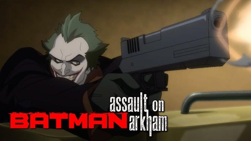 Joker se enfrenta a El Escuadrón Suicida y a Batman Batman Assault on Arkham