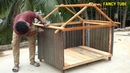 How to make chicken coop used by Abandoned wood and tin