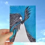 Открытка «Крылья»