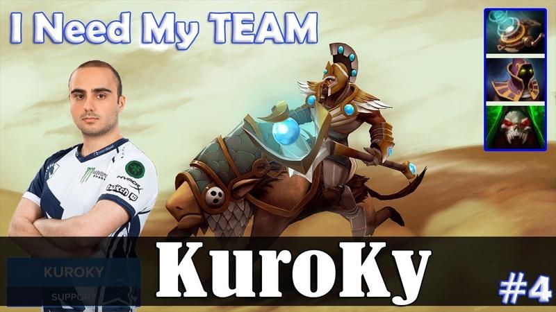 KuroKy - Chen Roaming | I Need My TEAM :( | Dota 2 Pro MMR Gameplay 4