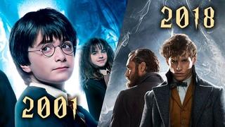 Киновселенная Гарри Поттера. Все трейлеры.2001-2018 (Harry Potter universe. All movie trailers)