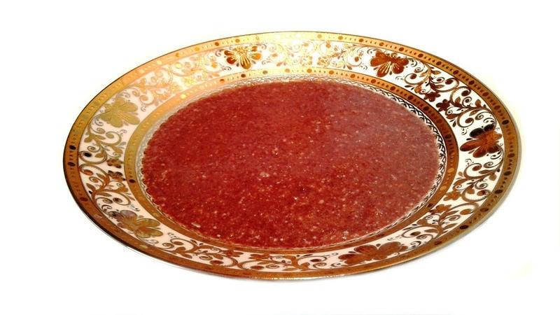 Кизиловый Летний Суп один из видов Шечаманди