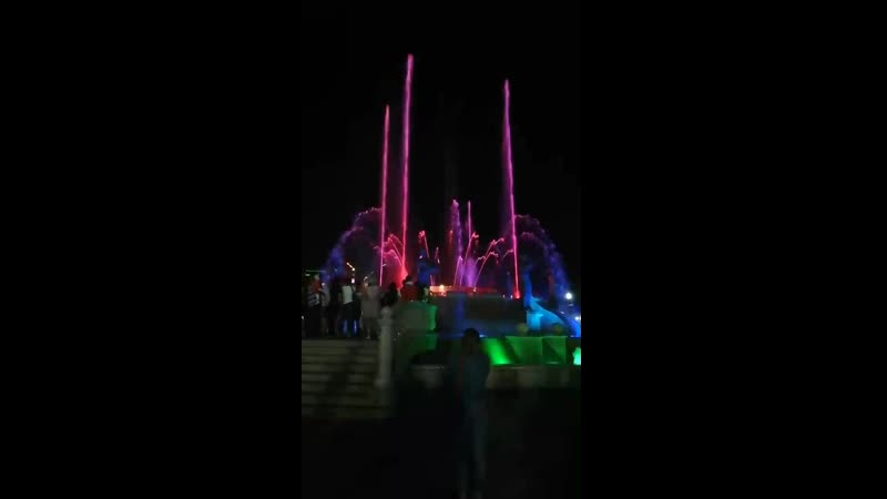 Поющий фонтан г Ставрополь