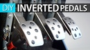 HOW TO MAKE LOGITECH INVERTED PEDALS DIY
