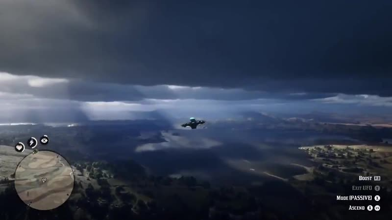 The volumetric clouds in Red Dead Redemption 2 are amazing! RDR2 Credit to utroll909 on Reddit