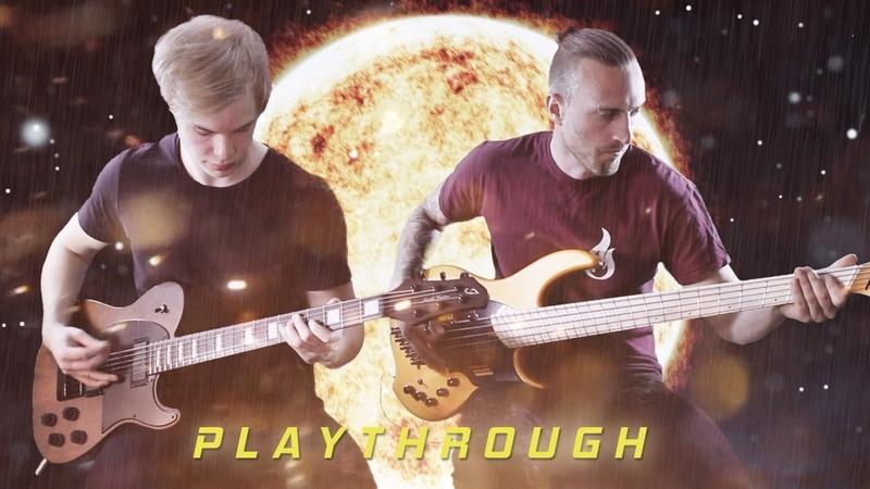 Artificial Sky - Hollow Smiles (Guitar and bass playthrough)
