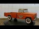 Rusty 1960's Nylint Ford F150 U Haul Pickup Restoration