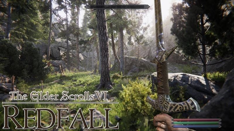 The Elder Scrolls VI REDFALL NEXT GEN GAMEPLAY PS5 XBOX SERIES X CONCEPT VID