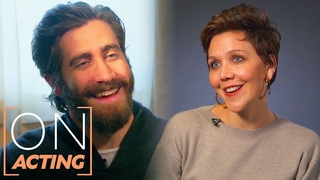 Maggie and Jake Gyllenhaal on How they Perform, Acting Advice, More On Acting