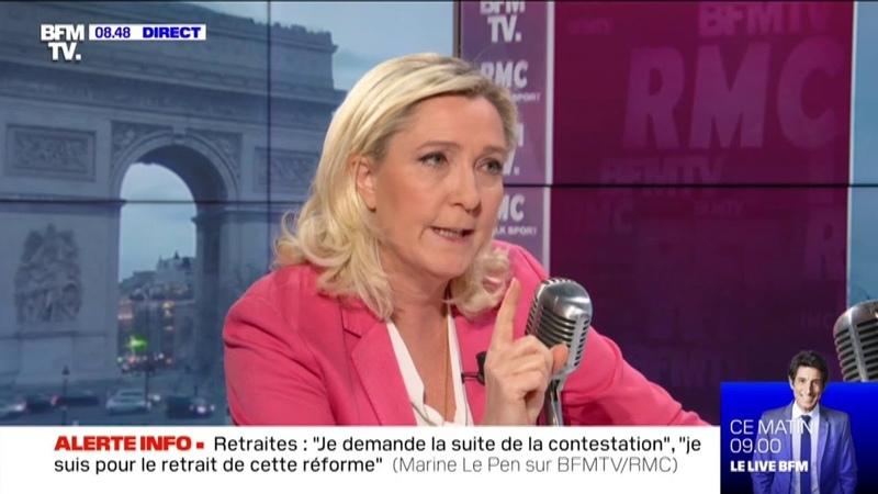 Rapatriement des femmes de djihadistes : On doit les juger là-bas ! estime Marine Le Pen