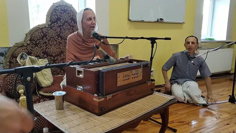 ЕМ Матаджи Деваки. Наши дети -- наше будущее. День 2 (02.08.18) Гарбхадхана самскара