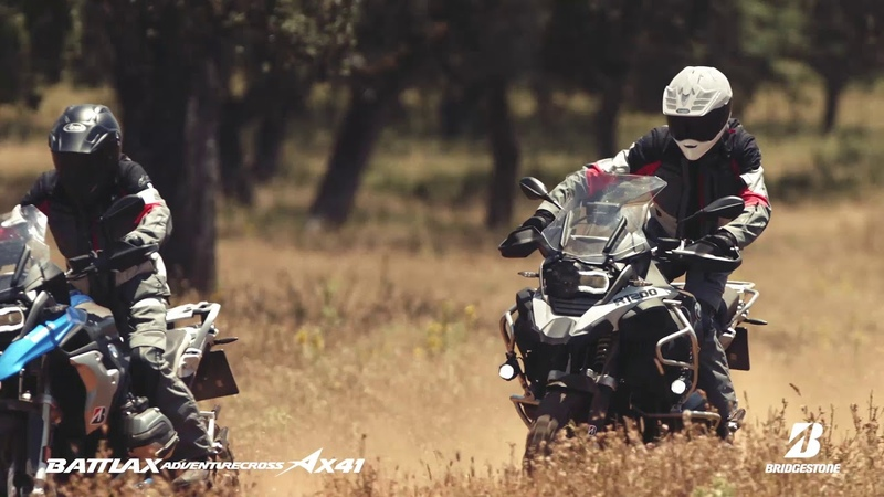 Bridgestone Battlax Adventurecross AX41・Ronda