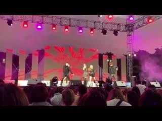 FANCAM 190921 Hyomin - 3rd Korea Youth Day - performance - U UM U UM