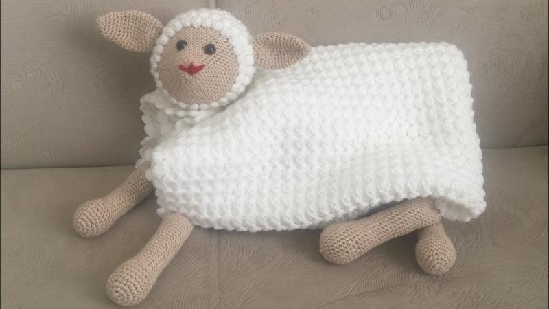 UYKU ARKADAŞI Kuzu battaniye Amigurumi battaniye Tığ işi kolay bebek battaniyesi PART 2