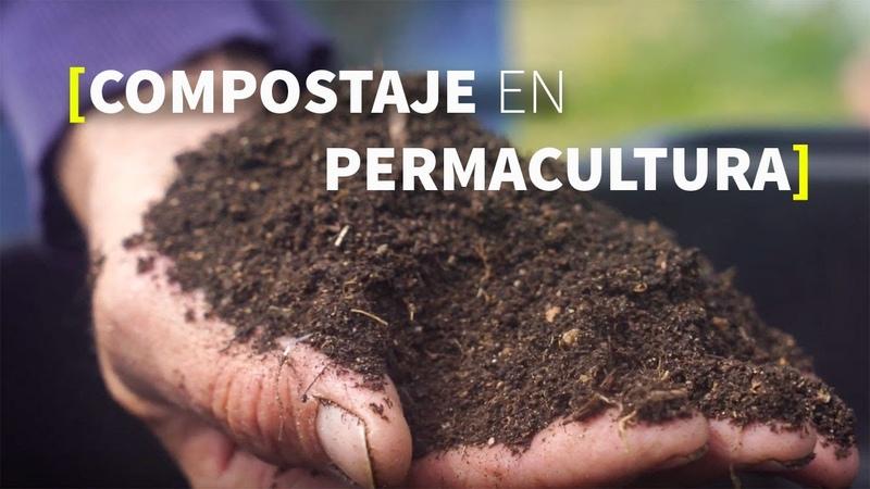 COMPOSTAJE en permacultura [En un piso también es posible]