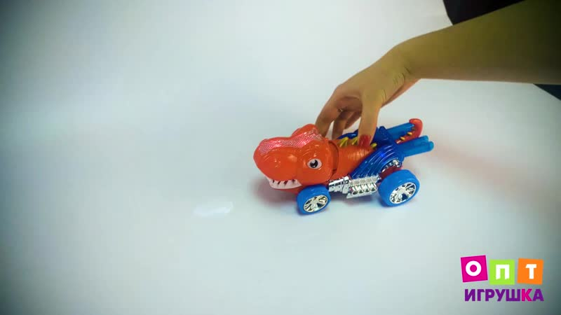 Обзор Музыкальной машины Динозавр от склада-магазина ОПТ Игрушка