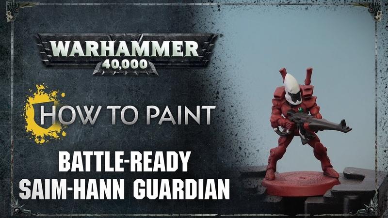 How to Paint: Battle-ready Saim-Hann Guardian
