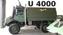 U4000 Mercedes Benz UNIMOG Heer Army