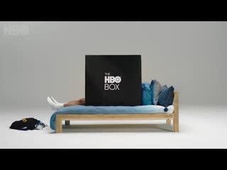 Hbo выпустила картонную коробку для просмотра сериалов