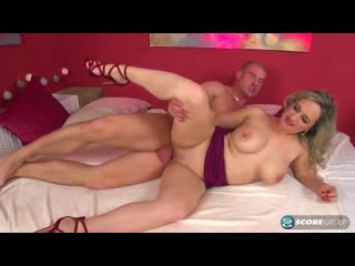 Amelie Azzure anal. Муж дрючит свою жену в анал. mature mom cougar milf blond tits housewife anal ass pussy hardcore fuck cumsho