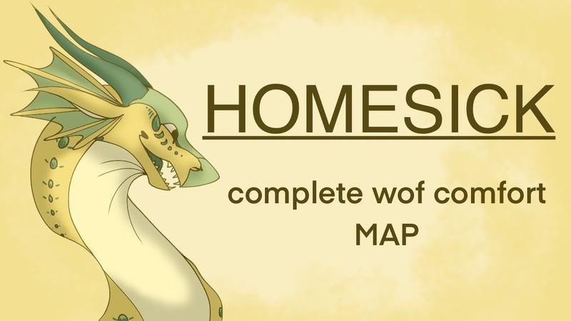 HOMESICK COMPLETE WOF COMFORT MAP