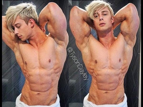 Tyson Dayley WBFF Pro Bodybuilder Jed North Athlete