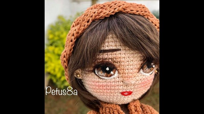 Como bordar ojos para tus muñecas amigurumis by Petus