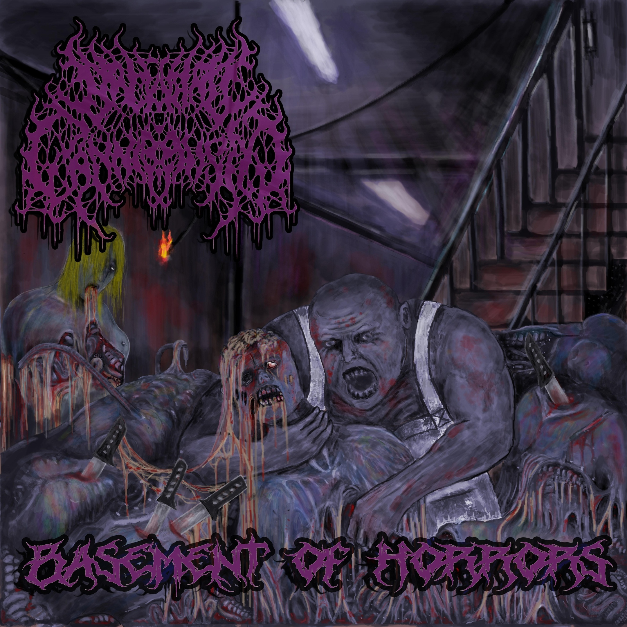Backyard Cannibalism - Basement of Horrors [EP]