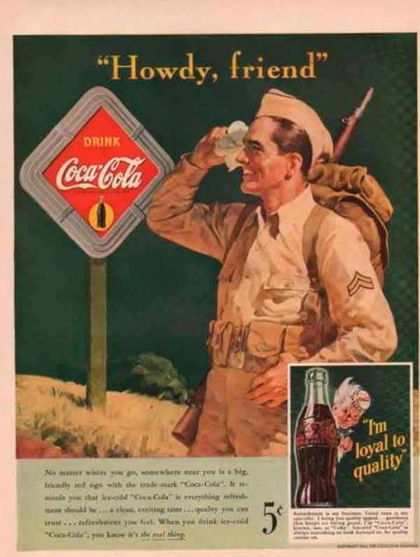 Кока-кола для военных