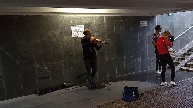 Вулічныя музыканты Кіева 7 Вуличні музиканти Києва 7