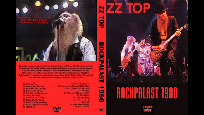 ZZ Top - Nasty Dogs And Funky Kings (Live At Rockpalast 1980)