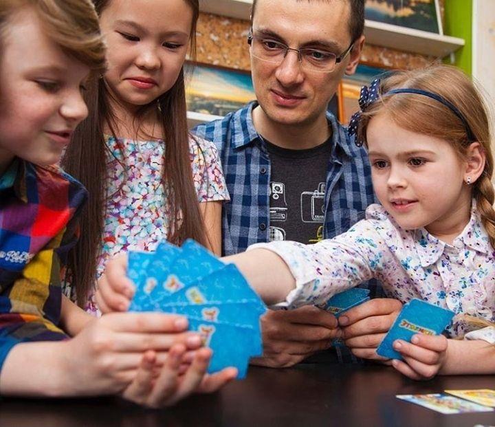 Первые игры появились на занятиях с детьми