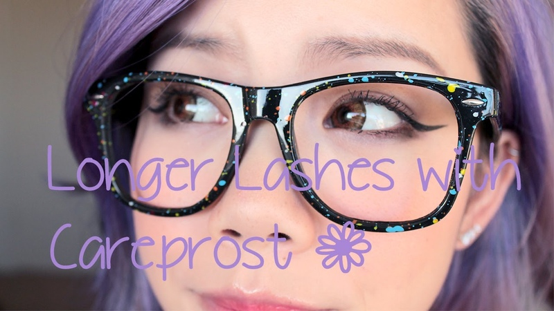 Longer Lashes: Careprost Day 1