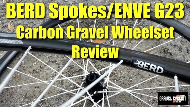 BERD Spokes / ENVE G23 Carbon Gravel Wheelset Review - 1,226 grams!
