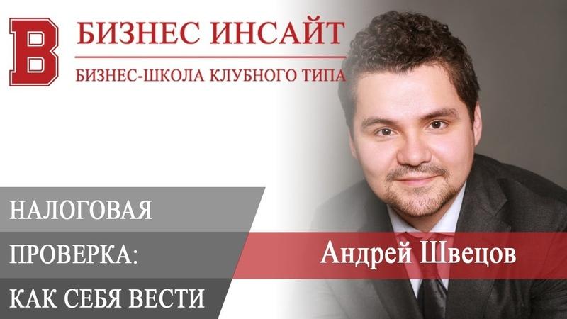 БИЗНЕС ИНСАЙТ: Андрей Швецов. Налоговая проверка