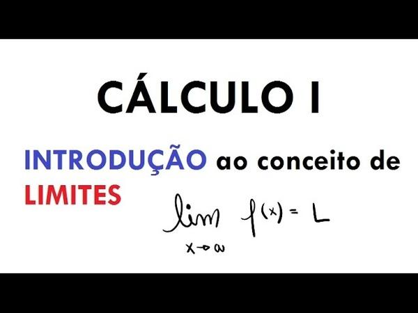 Cálculo I - Introdução ao Conceito Intuitivo de Limites (aula 01)