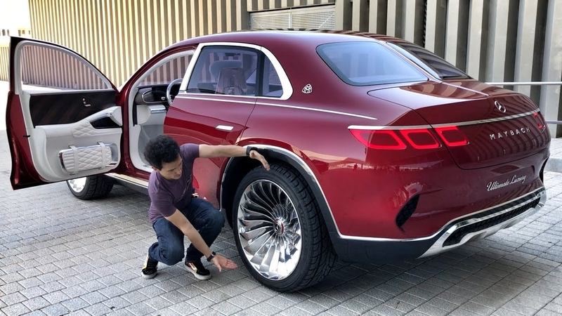 ТЕСТ КОНЦЕПТА POV-обзор 750 л.с. Mercedes-Maybach Ultimate Luxury!