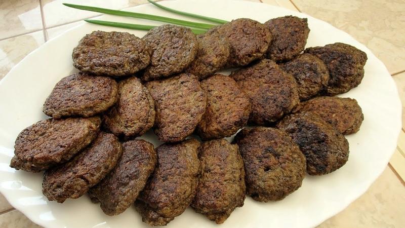 Нежнейшие котлеты из говяжьей печени или оладьи из печени